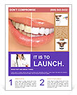 Teeth Whitening Flyer Template