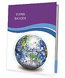 Global Communication Presentation Folder