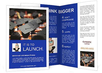 graduation brochure templates university graduation brochure template design id
