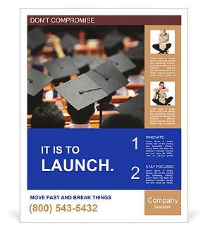 University graduation poster template design id for Graduation brochure templates