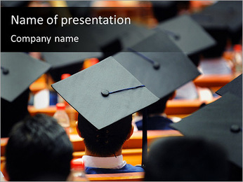 University Graduation PowerPoint Template