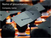 大学卒業 PowerPointプレゼンテーションのテンプレート