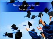 Šťastný promoce PowerPoint šablony