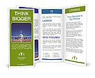 Travel By Plane Brochure Templates