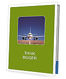 Travel By Plane Presentation Folder