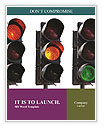 Traffic Lights Word Templates