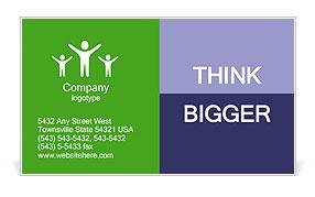 Traffic Jam Business Card Template