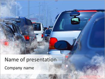 Traffic Jam Modèles des présentations  PowerPoint
