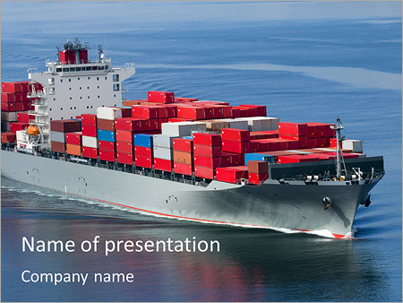 Shipping powerpoint template backgrounds id 0000004796 shipping powerpoint template toneelgroepblik Image collections