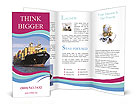 Shipping Goods Brochure Templates