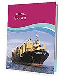 Shipping Goods Presentation Folder
