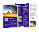 Pyramids In Egypt Brochure Templates