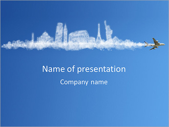 Exploring The World PowerPoint Template