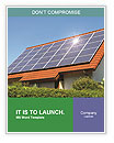 Solar Panel On Roof Word Templates
