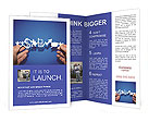 Paper Business Chain Brochure Template