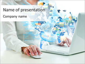 Internet Media PowerPoint Template