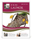 Shoes made of natural materials Flyer Template