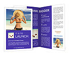 Perfect Summer Vacation Brochure Templates