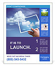 Sky Photo Poster Template