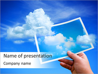 Sky Photo PowerPoint Template