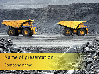 地雷 PowerPointプレゼンテーションのテンプレート