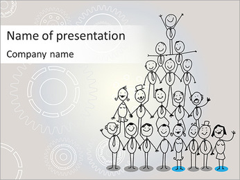 Company's Management PowerPoint Template