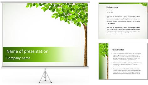 Dessin d'arbre Modèles des présentations  PowerPoint