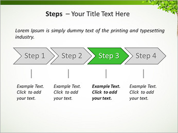 Dessin d'arbre Modèles des présentations  PowerPoint - Diapositives 4