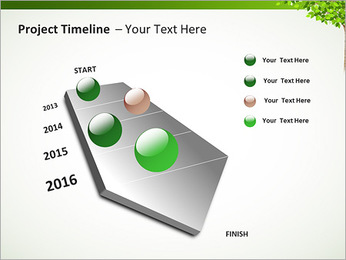 Dessin d'arbre Modèles des présentations  PowerPoint - Diapositives 6