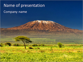 Kilimanjaro PowerPoint Template
