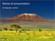 Kilimanjaro PowerPoint Templates