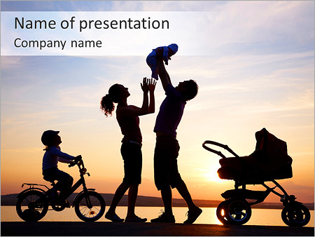 Family powerpoint templates backgrounds google slides themes family with children powerpoint template toneelgroepblik Choice Image