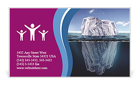 Iceberg Business Card Templates