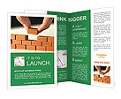 Brown Brick Brochure Templates