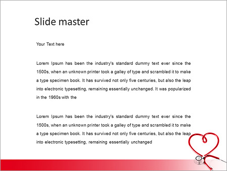 Сердце Проверить Шаблоны презентаций PowerPoint