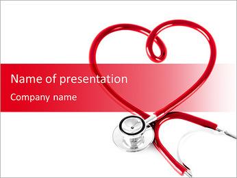 Coração Verificação Modelos de apresentações PowerPoint