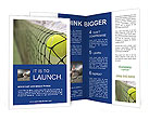 Tennis Match Brochure Templates
