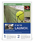 Tennis Match Flyer Template