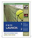 Tennis Match Poster Template