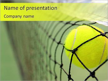 Tennis Match PowerPoint Template