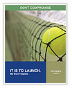 Tennis Match Word Template