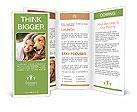 Woman With Labrador Brochure Templates