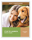 Woman With Labrador Word Templates