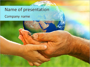 New Generation PowerPoint Template