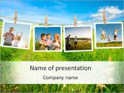 Memorable Family Photos PowerPoint-Vorlagen