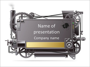 Old Mechanism PowerPoint Template
