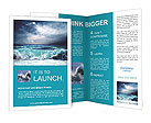 Huge Waves Brochure Template