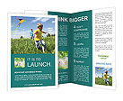 Kite In The Sky Brochure Templates
