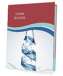 Bottled Water Presentation Folder