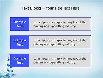 Bottled Water PowerPoint Template - Slide 38